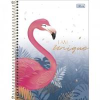 Caderno Universitário Capa Dura 01 Matéria 80 Folhas Aloha C