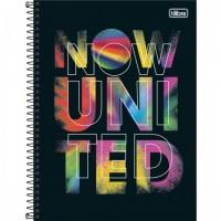 Caderno Universitário Capa Dura 16 Matérias 256 Folhas Now United B