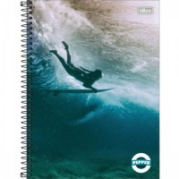 Caderno Universitário Capa Dura 12 Matérias 192 Folhas Pepper Masculino