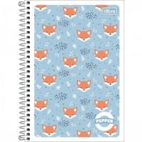 Caderno Espiral Capa Flexível 1/4 Pepper 80F B