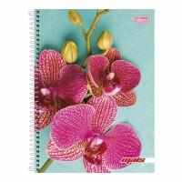 Caderno Universitário Capa Dura 12 Matérias 240 Folhas D+ Feminino G