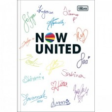 Caderno Brochura Capa Dura 1/4 Now United 80F A