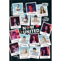 Caderno Brochura Capa Dura 1/4 Now United 80F D