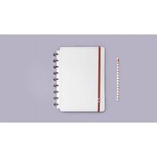Caderno Inteligente Pequeno A5 All White