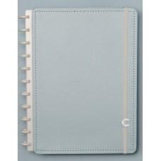 Caderno Inteligente Grande Azul Pastel