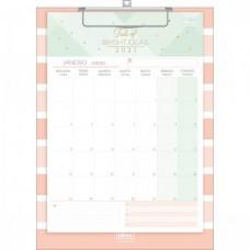 Calendário Planner Prancheta Soho 2021 B