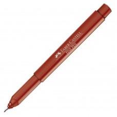Caneta Faber Castell Fine Pen 0,4mm Vermelho