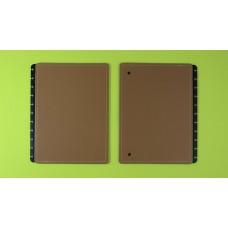 Capa e Contracapa Caderno Inteligente Grande Caramel