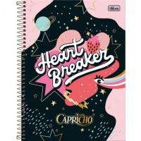Caderno Universitário Capa Dura 12 Matérias 192 Folhas Capricho A
