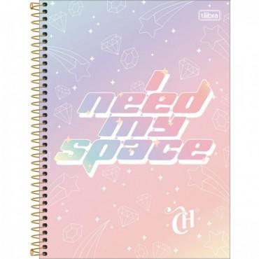 Caderno Universitário Capa Dura 12 Matérias 192 Folhas Capricho C
