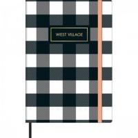 Caderno Costurado Capa Dura Sem Pauta M Fitto West Village 80F