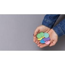 Disco Grande Diversidade Brasileira 31mm + Elastico Clapper Caderno Inteligente
