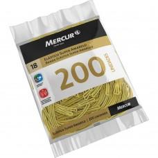 Elástico Super Amarelo Mercur Nº 18 C/200 unidades