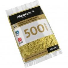 Elástico Super Amarelo Mercur Nº 18 C/500 unidades