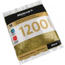 Elástico Super Amarelo Mercur Nº 18 C/1200 unidades