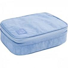 Estojo Box Academie Azul Claro Tilibra