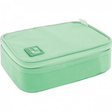 Estojo Box Academie Verde Tilibra