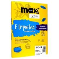 Etiqueta Maxprint A4349 100F C/12600