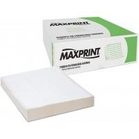 Etiqueta Maxprint 70x23 de 2 Carreiras CX 12000 UN