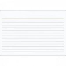 Ficha Pautada 3x5 Grafset C/100f Flashcards