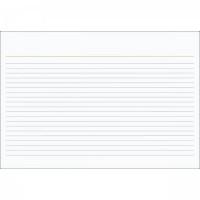 Ficha Pautada 4x6 Grafset C/100f Flashcards