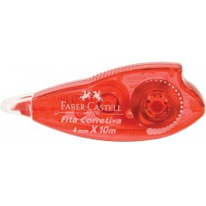 Fita Corretiva Faber Castell 4mm X 10m OF/7072