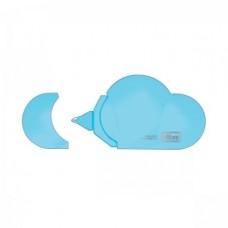 Fita Corretiva Tilibra Nuvem 5mm X 5m Azul