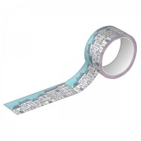 Fita Decorativa Washi Tape Tilibra 15mm X 10m Estampada 2