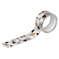 Fita Decorativa Washi Tape Tilibra 15mm X 10m Estampada 3