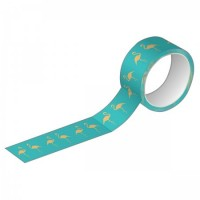 Fita Decorativa Washi Tape Tilibra 15mm X 10m Glitter Metalizada 2