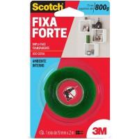 Fita Dupla Face Fixa Forte VHB 19mmX2m Transparente Scotch 3M