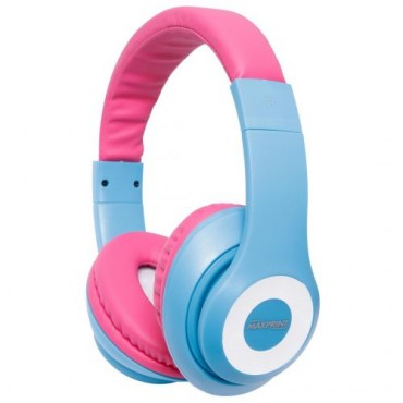 Fone de Ouvido Maxprint Headset Life Series Pink/Blue