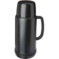 Garrafa Termica Invicta ideal Preta 1 Litro
