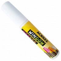 Marcador de Vidro Window Marker Branco Acrilex (Giz Líquido)