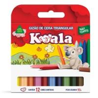 Gizão de Cera Koala C/12 Cores