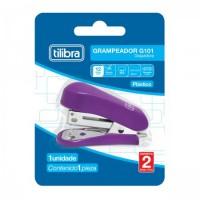 Grampeador Mini Tilibra com Extrator G101 P/12F Roxo