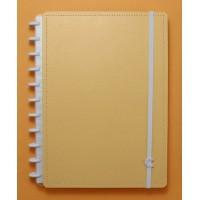Caderno Inteligente Grande All Laranja Pastel