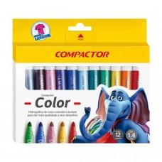 Hidrocor Compactor Color Jumbo C/12 Cores