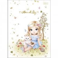 Caderno Brochura Capa Dura Universitário Jolie 80F A