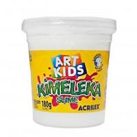 Kimeleka Slime Art Kids Acrilex - Branca 180g