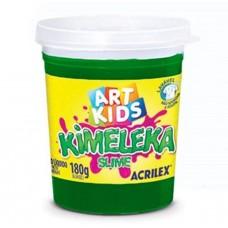 Kimeleka Slime Art Kids Acrilex - Verde 180g