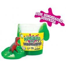 Kimeleka Slime Dinossauros Acrilex - Verde 180g