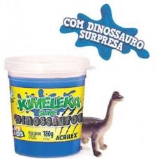Kimeleka Slime Dinossauros Acrilex - Azul 180g