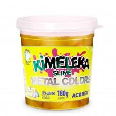 Kimeleka Slime Metal Colors Acrilex - Ouro 180g