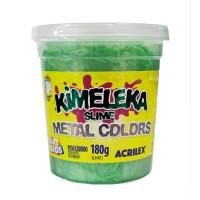 Kimeleka Slime Metal Colors Acrilex - Verde 180g