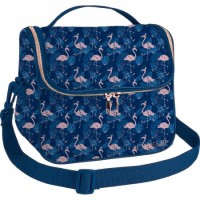 Lancheira Tiracolo Académie Flamingo
