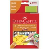 Lápis de Cor Faber Castell,Jumbo Triangular C/12 + Apontador com Depósito