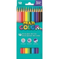 Lápis de Cor Multicolor C/12 Cores
