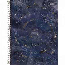 Caderno Universitário Capa Dura 16 Matérias Magic 256 Folhas B