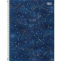 Caderno Universitário Capa Dura 10 Matérias Magic 160 Folhas D